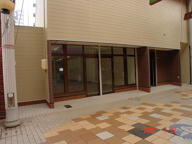 道門貸店舗 ア-ケ-ド内(42坪) 山口市道場門前 テナント